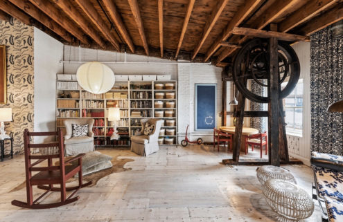 Manhattan 'ship house' filled with rental lofts lists for $13m