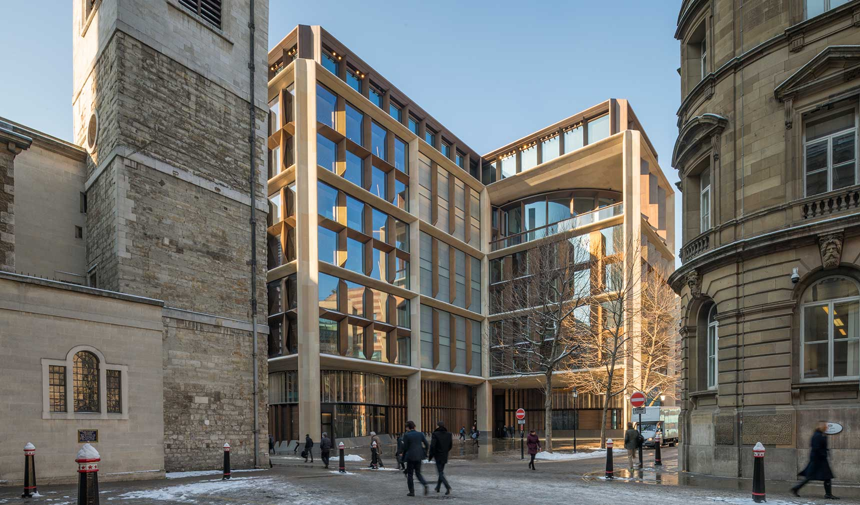Foster + Partners have scooped the RIBA Stirling Prize for their Bloomberg HQ