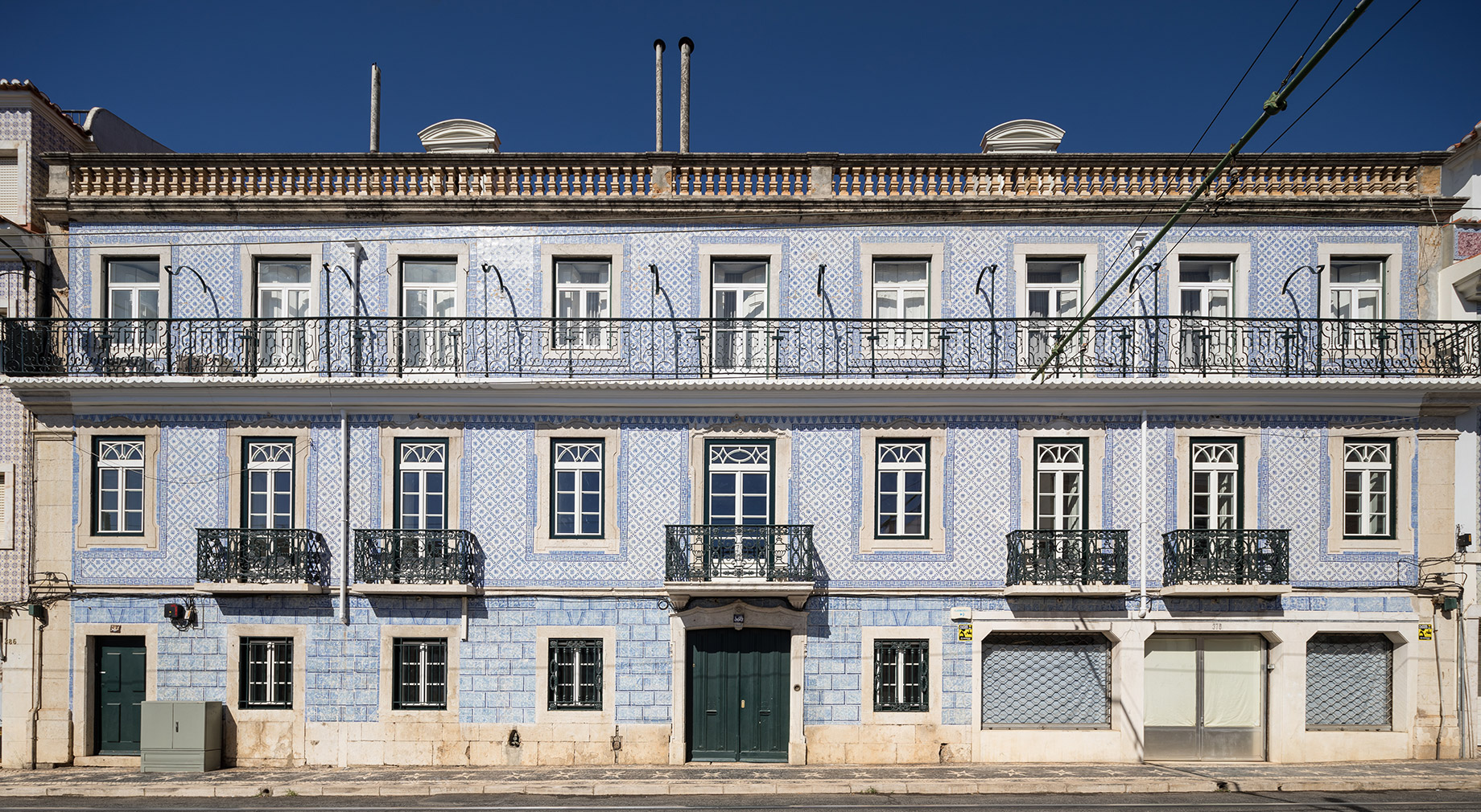 Holiday home of the week: an 18th-century Lisbon palace with a minimalist twist