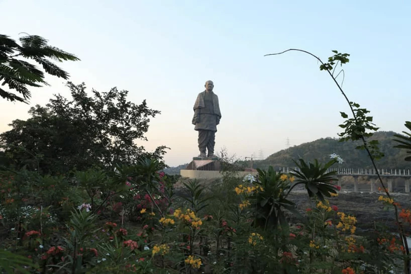 The world's tallest statue is unveiled in India