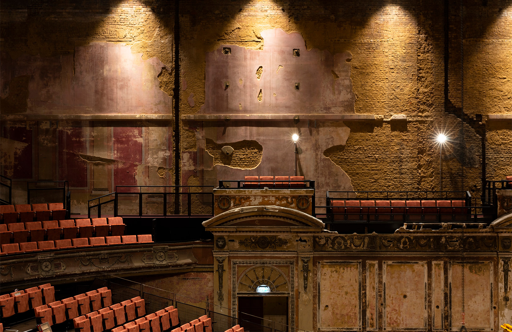 See inside London's freshly restored Alexandra Palace Theatre