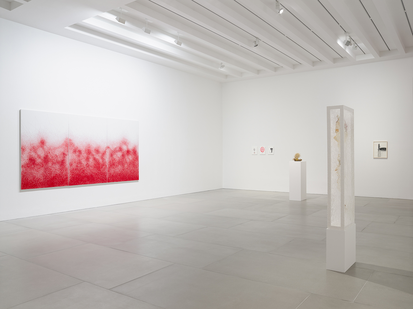 Chiharu Shiota, 'Me Somewhere Else' installation view. Courtesy of the arttist and Blain|Southern. Photography: Peter Mallet