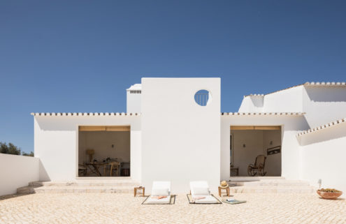 Art-filled Dá Licença hotel takes over a former farm in southern Portugal