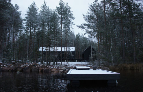 Holiday home of the week: a minimalist Finnish 'mökki' in the woods