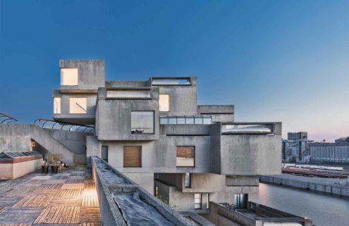 Moshe Safdie's Habitat 67 home in Montréal is now open for tours