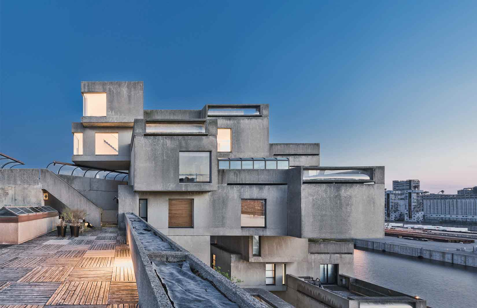 Moshe Sadfie's Habitat 67 is now open to the public for tours