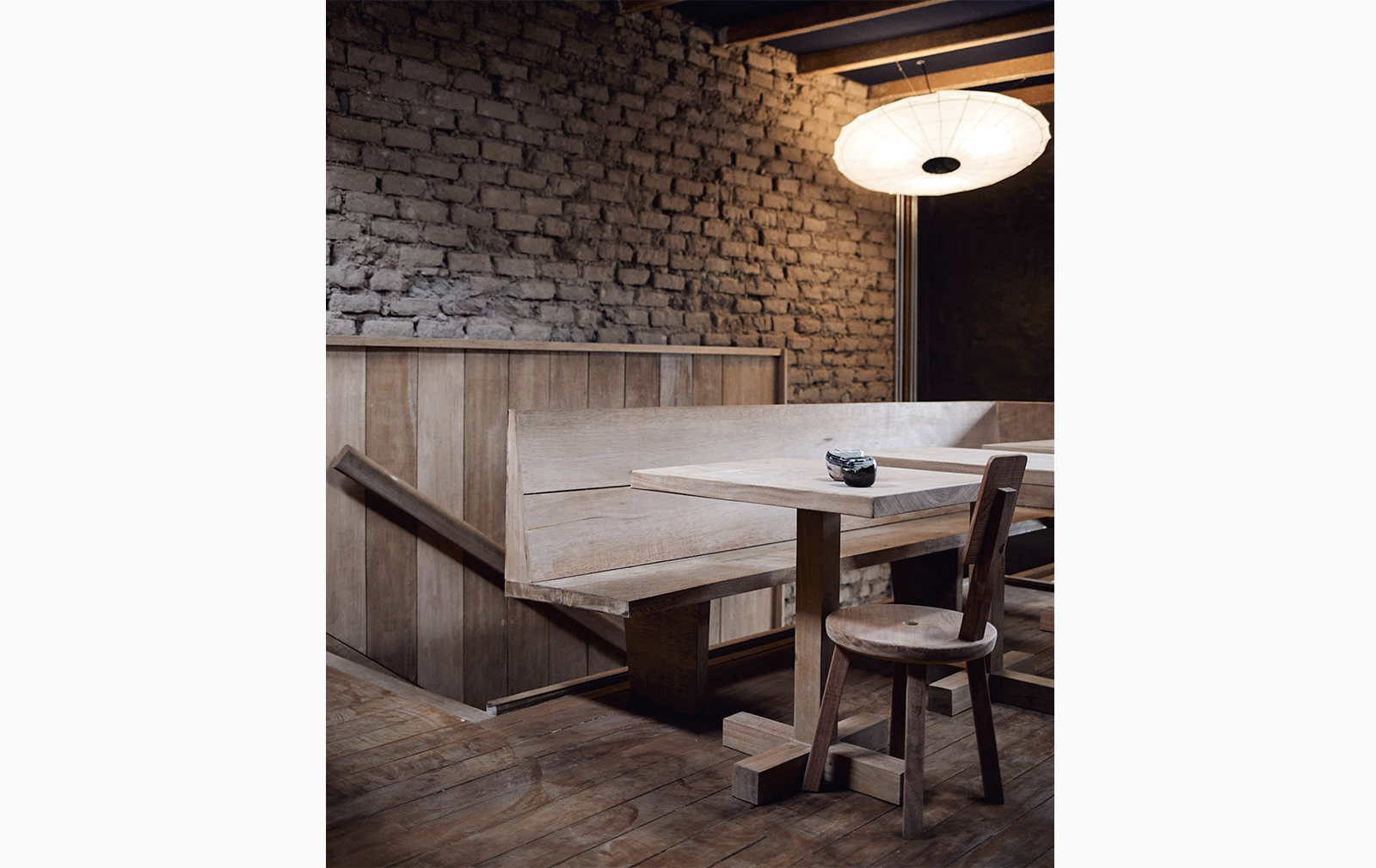 Lima restaurant Mérito channels rustic cabin vibes