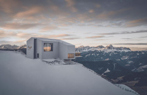 Lumen photography museum opens atop the Dolomite Mountains