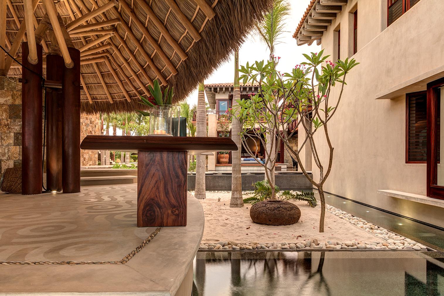 Casa Koko is a barefoot retreat in Mexico's Punta Mita community