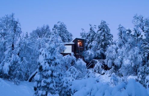 Inside La Dacha – a rustic Chilean mountain retreat