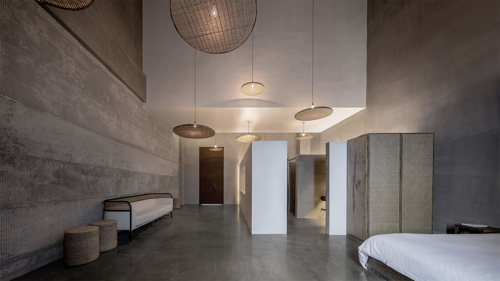 Studio 10 conjures serene interiors of Chinese holiday home Light and Shadow