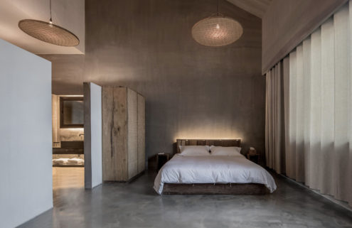 Studio 10 conjures serene interiors of Chinese guesthouse Light & Shadow