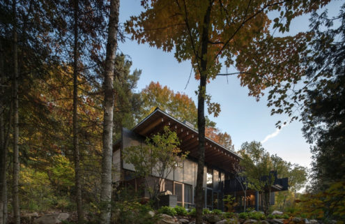 A woodland retreat in the heart of Ontario, Canada