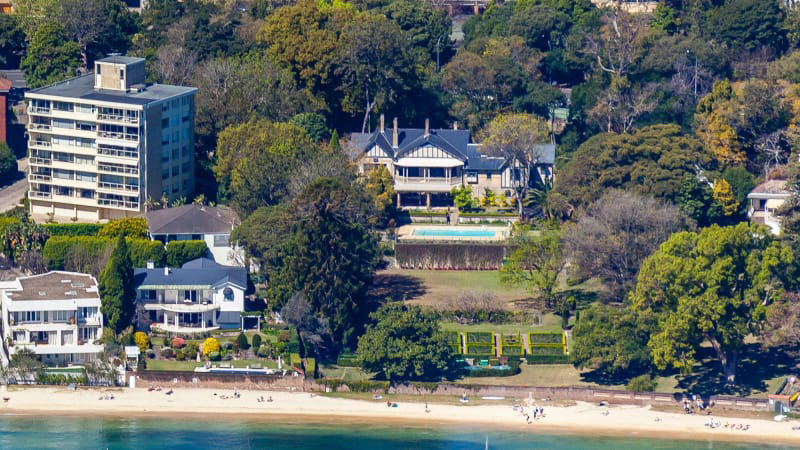The Point Piper estate sold for $100m AUD