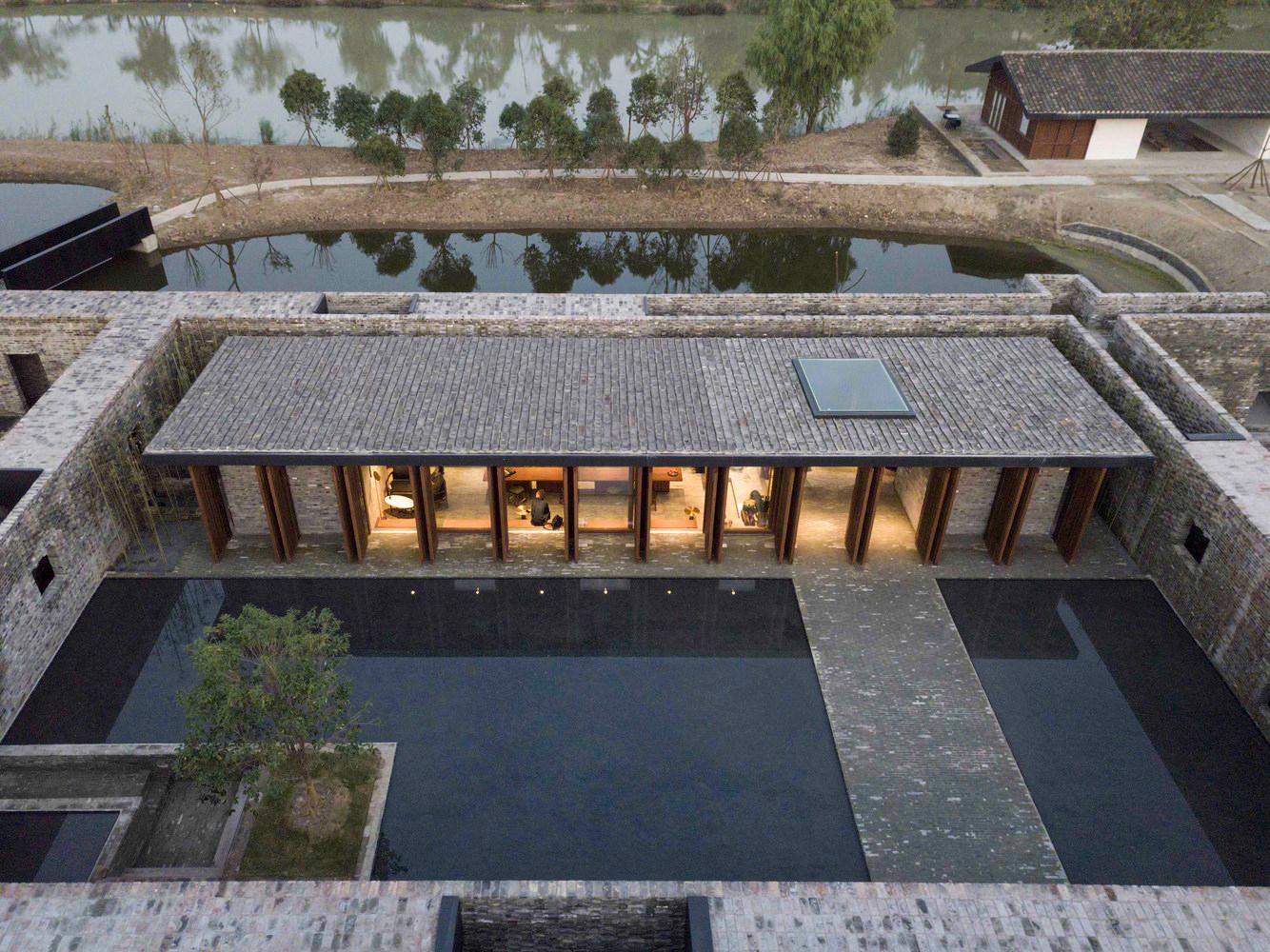 Tsingpu Yangzhou Retreat adaptive reuse project