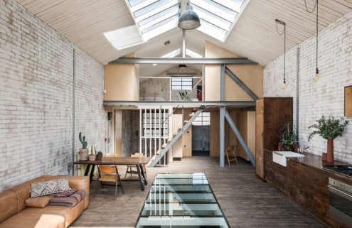 A light-filled warehouse conversion hits the market in east London