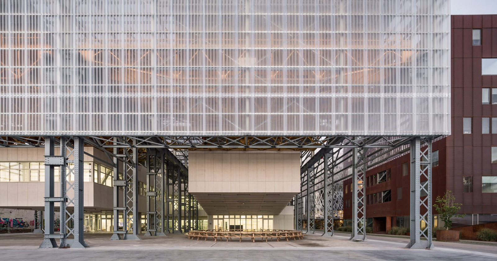 Adaptive reuse projects 2018: School of Arts, Nantes