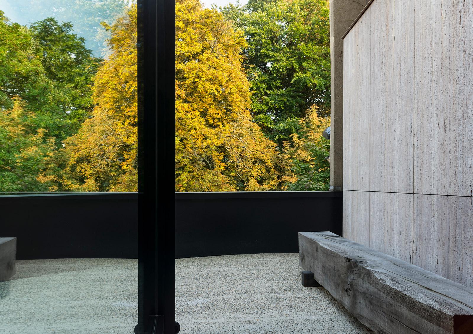 Architect Glenn Sestig's modernist townhouse is for sale in Ghent