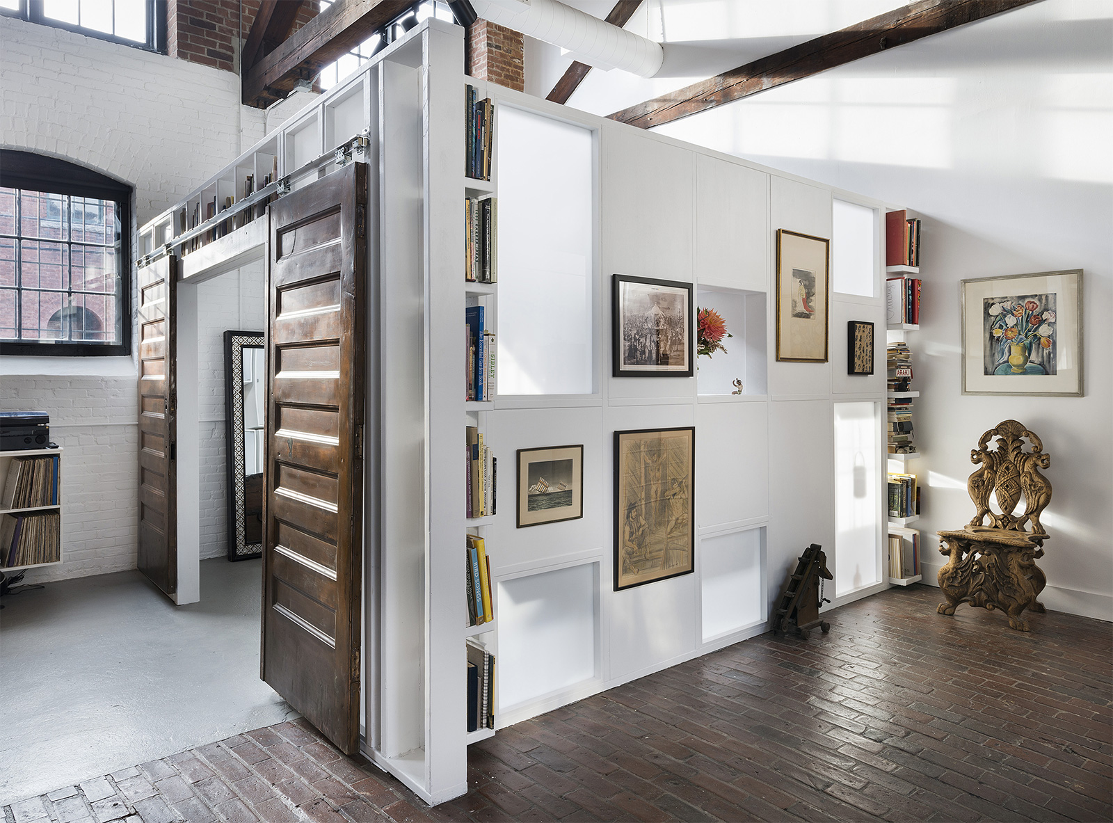Ceramicist's converted dye mill is for sale in Rhode Island