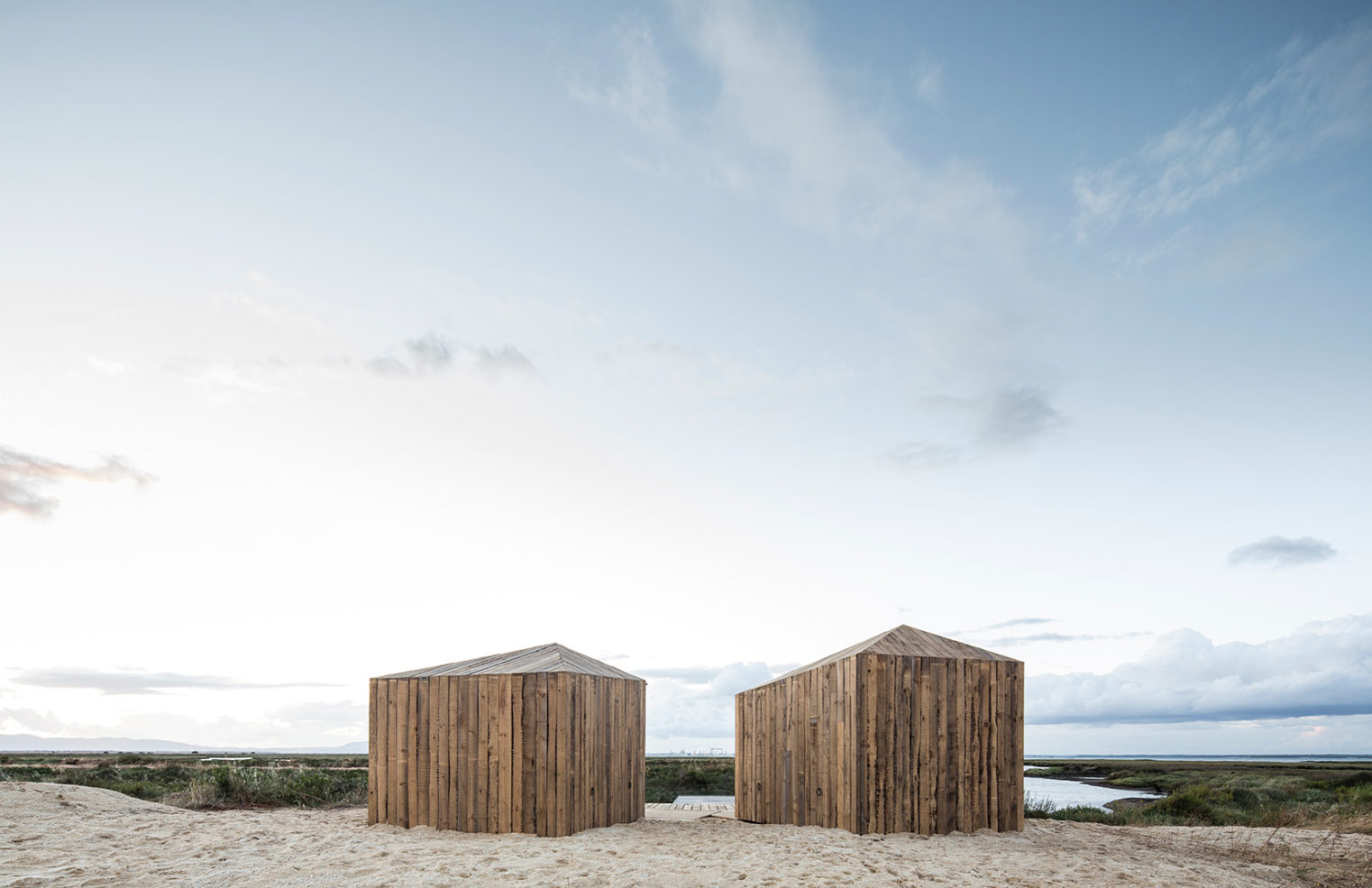Cabanas no Rio in Comporta, Portugal