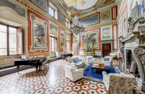 Fresco-filled palazzo hits the market for €2.5m in Italy's Acquapendente