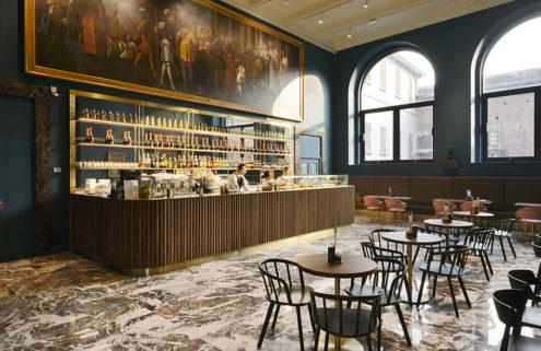 Caffè Fernanda recalls 1950s Milanese glamour