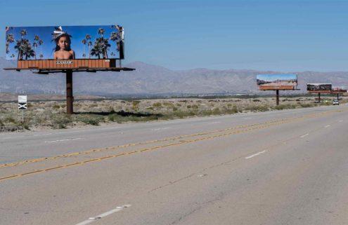 Billboards bring Native American culture into the spotlight at Desert X