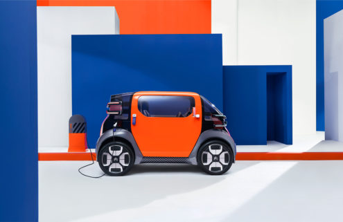 Citroën's new electric car concept does not require a driver's license