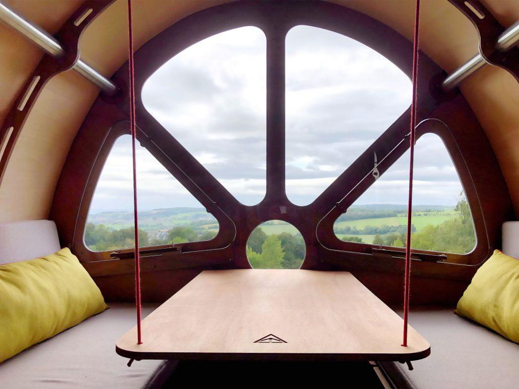 Fuselage cabin by Tree Tents International