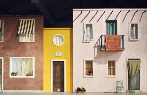 Jacquemus recreates a French village for its AW19 Paris show