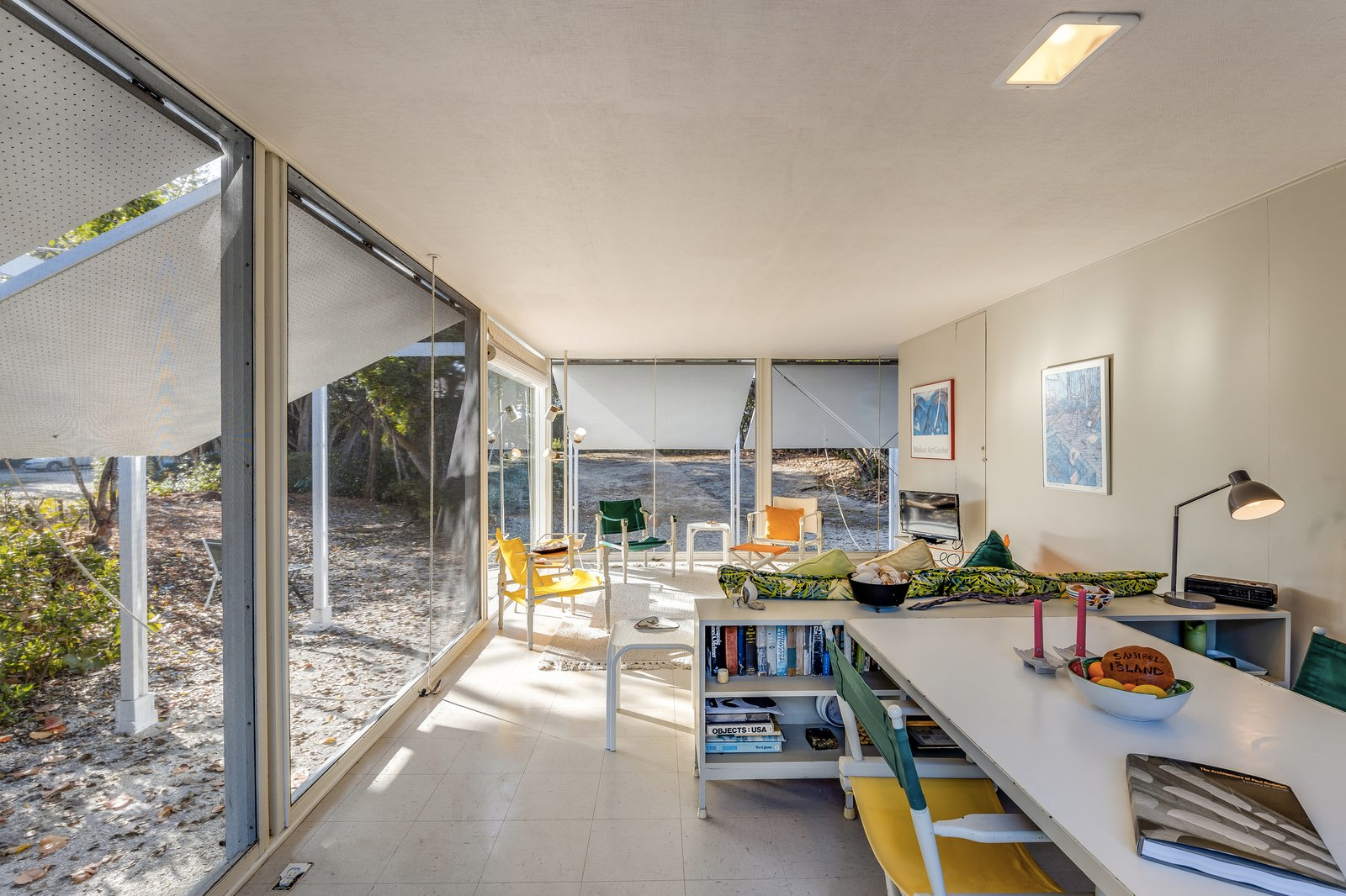 Paul Rudolph's Walker Guest House hits the market in Florida