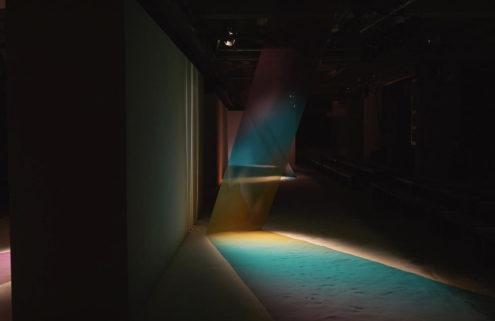Roksanda taps art collective Troika to create a rainbow runway