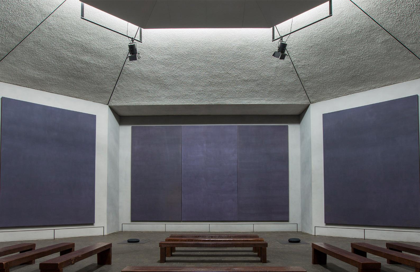 Rothko Chapel interior