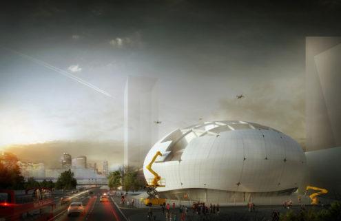 Seoul's new robotics museum will build itself