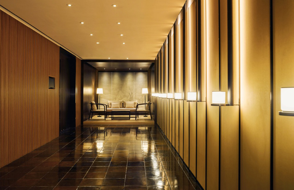 Natural finishes can be found across the PuXuan Hotel and Spa