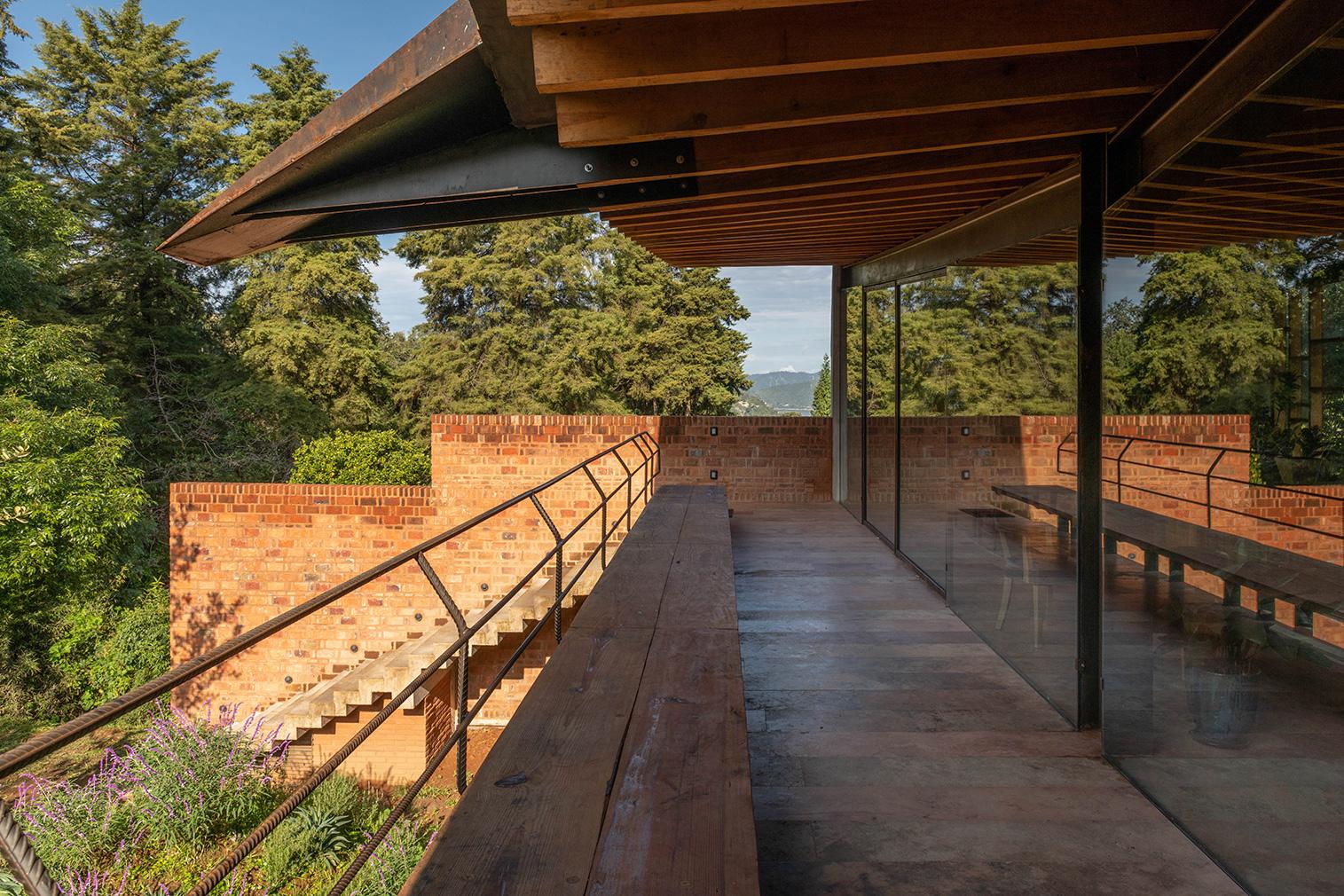 Casa Los Ailes in Mexico's Valle de Bravo - available via BoutiqueHomes