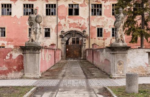 This Bohemian castle near Prague is ripe for renovation