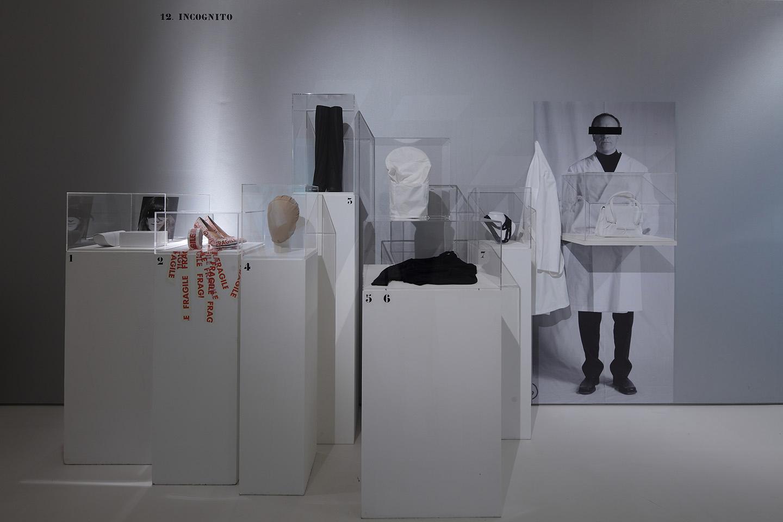 Maison Margiela '20' exhibition, installation view (c) Somerset House