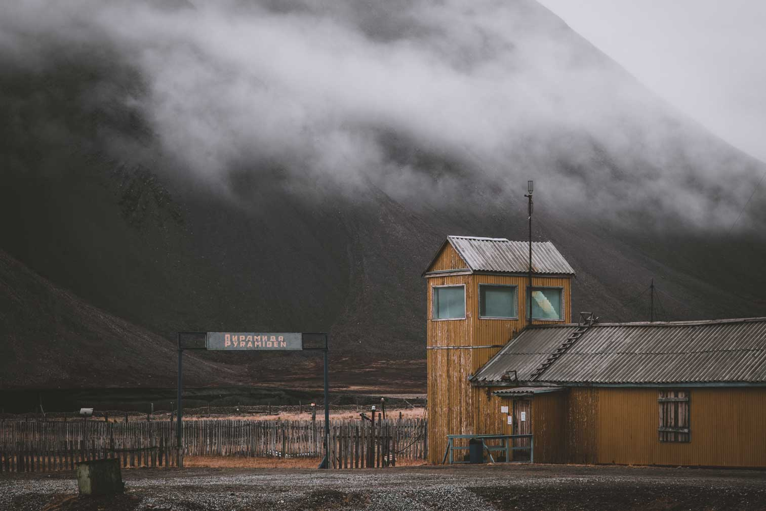 Tour the eerie abandoned mining town of Pyramiden