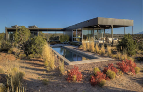 Ultra-minimal Marmol Radziner home is for sale in the Utah desert