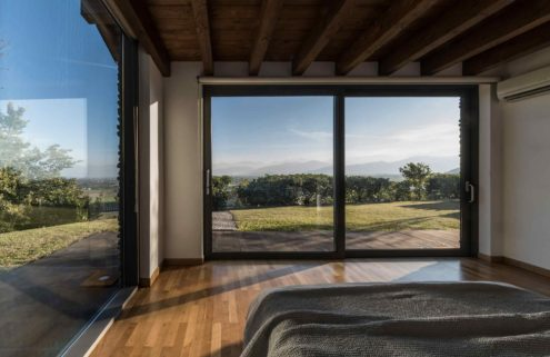 An Italian home with dramatic views hits the market in Langhe