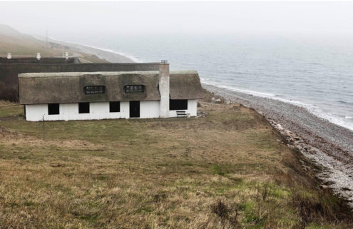 Beachside cottage on Denmark's rocky Samsø island lists for 4.7m DKK