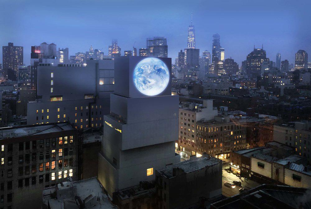 Sebastian Errazuriz's rendering of 'blu Marble'.