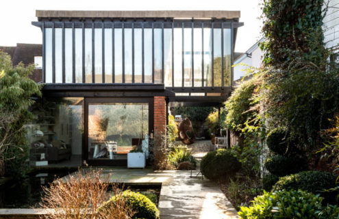 Historic Buckinghamshire home with sunken garden lists for £1.5m