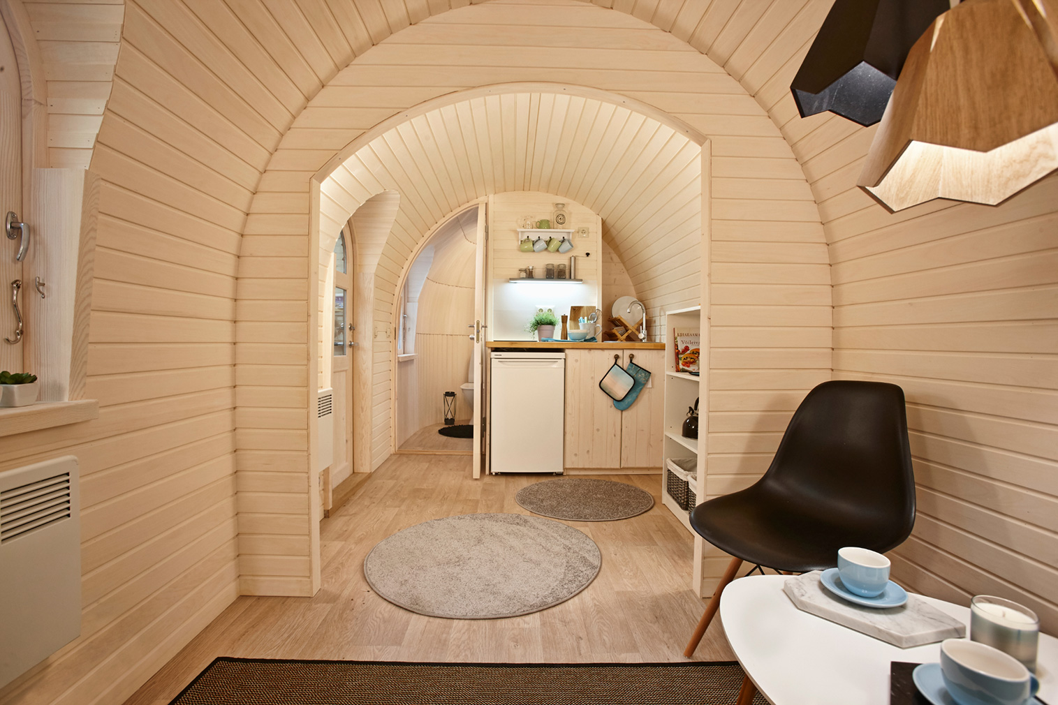 IgluHut cabin via IgluCraft