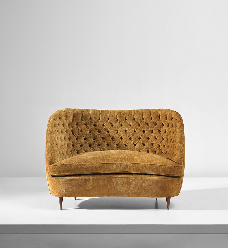 Lot 301, Gio Ponti sofa circa 1951. Estimate: £4,000 - 6,000. Courtesy of Phillips