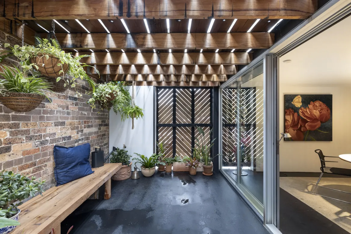 A freshly converted warehouse is headed for auction in Sydney