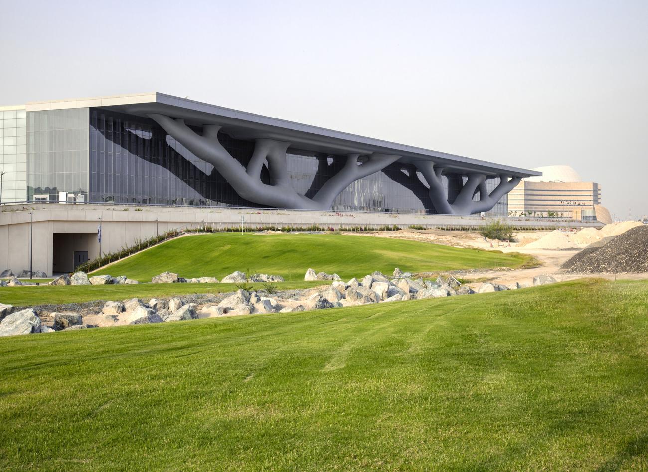 Qatar National Convention Center. Photography: Hisao Suzuki