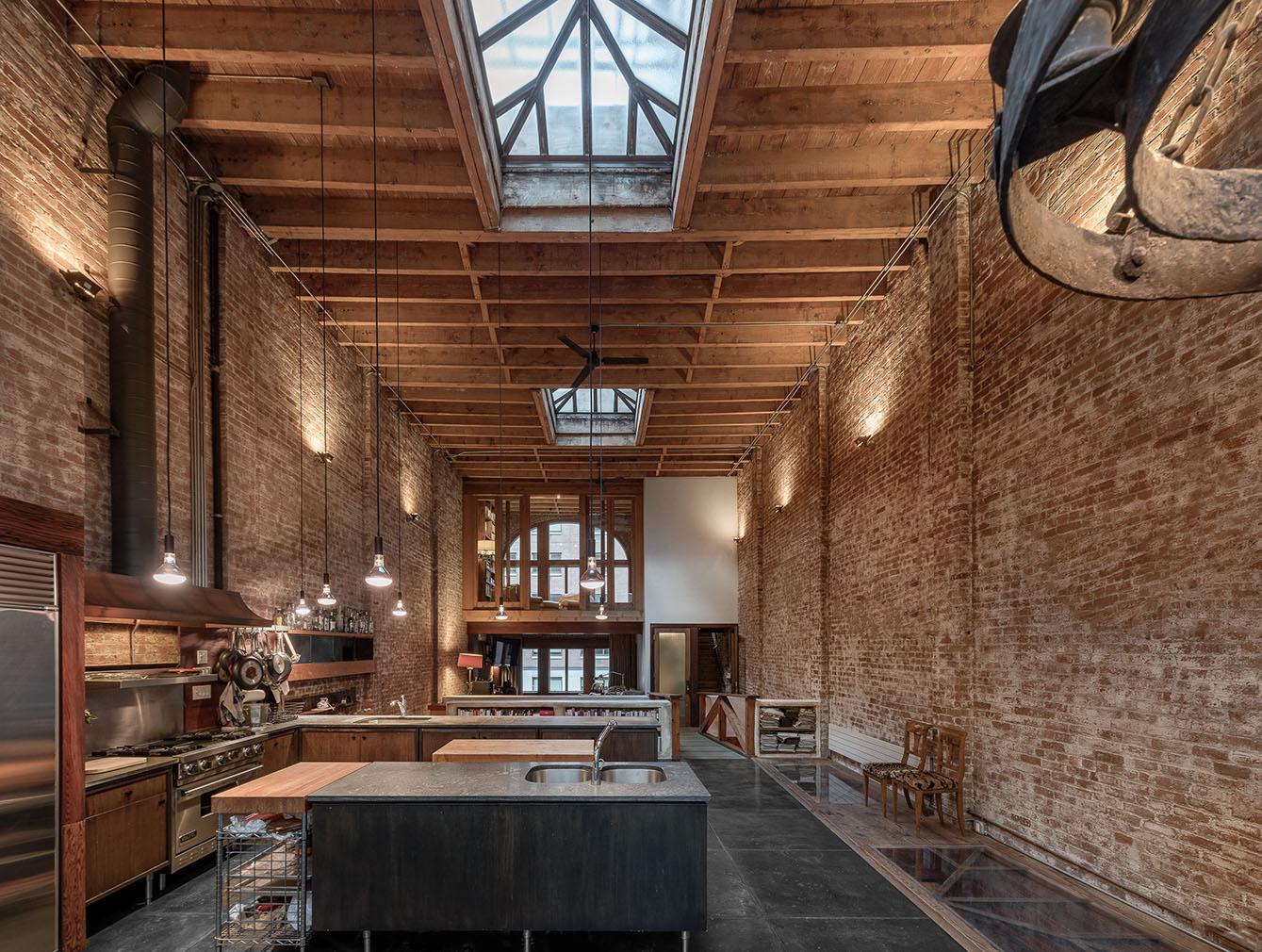 A set designer's warehouse studio is for sale in Manhattan