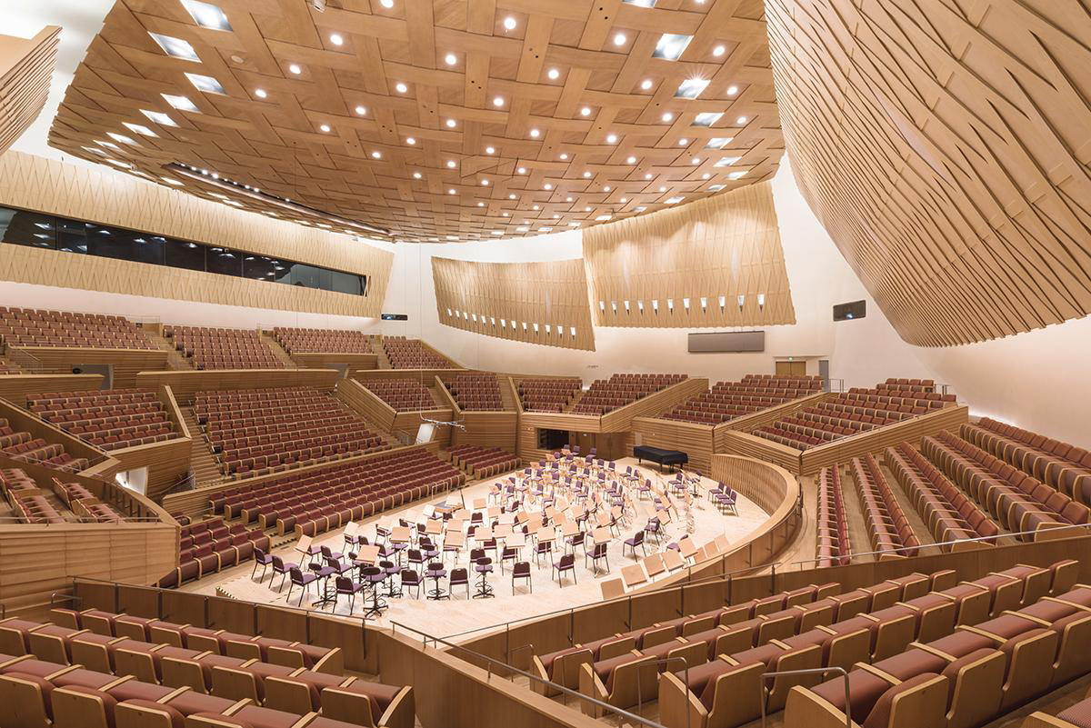 Shanghai Symphony Hall. Photography: Chen Hao